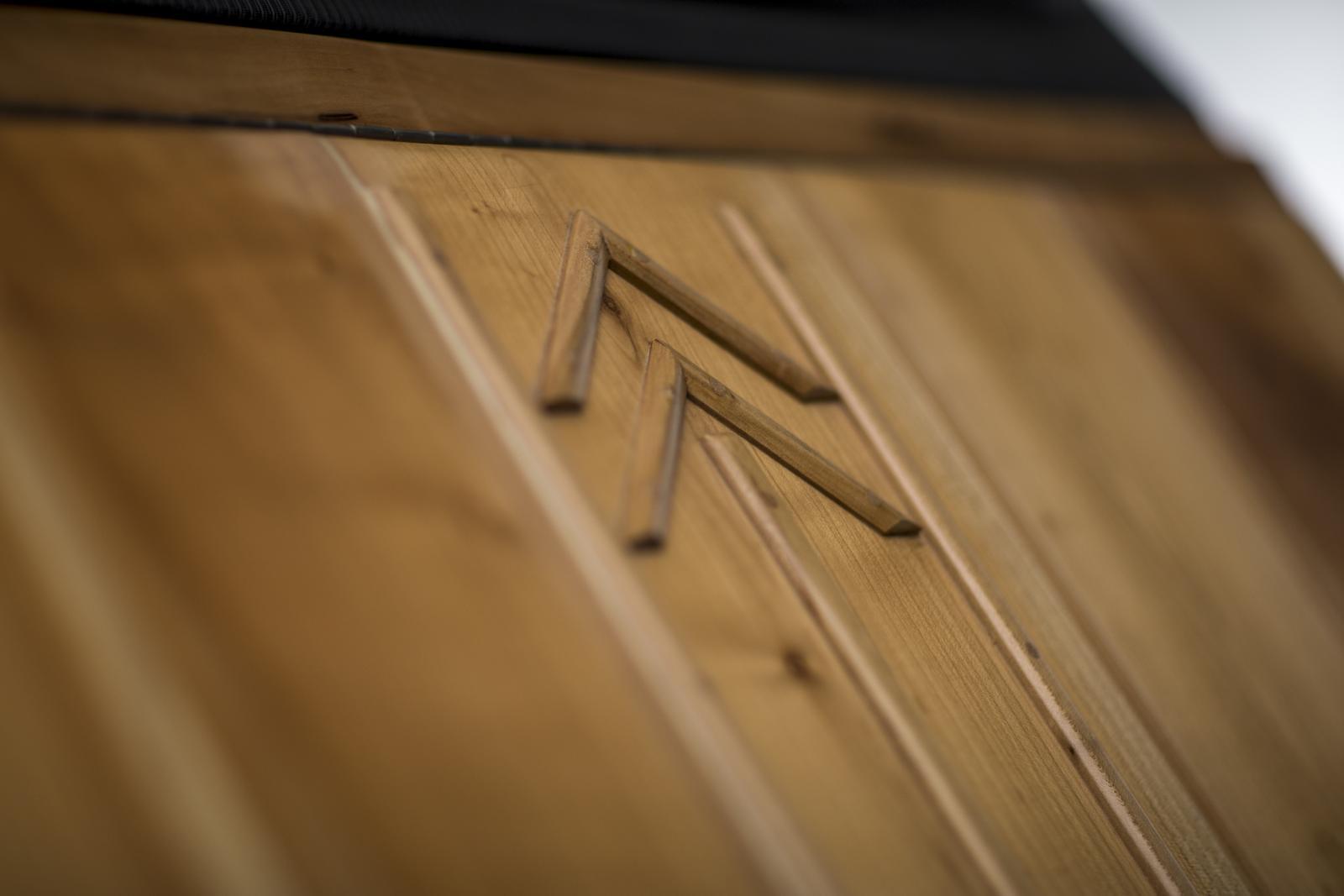 2CV en bois de Michel Robillard