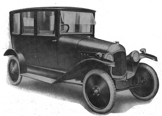 10 HP Type A 1919 sisätilat