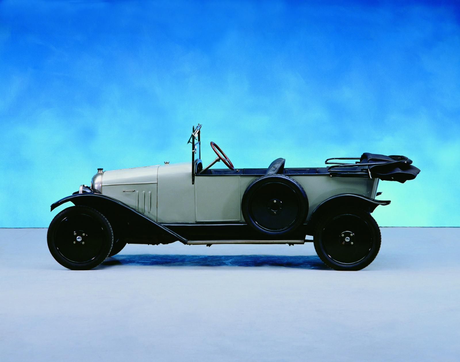 10 HP Typ A Torpedo 1919 Seite