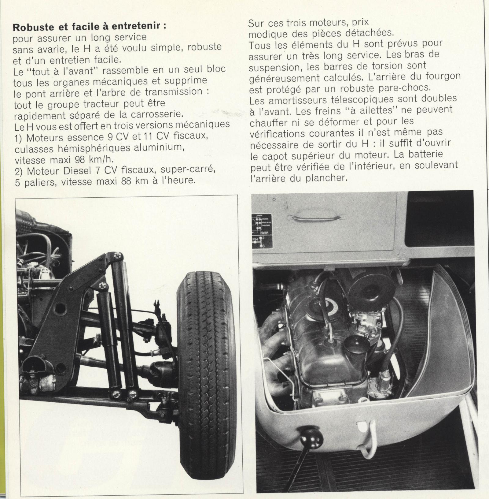 Prospekt Typ H 1966