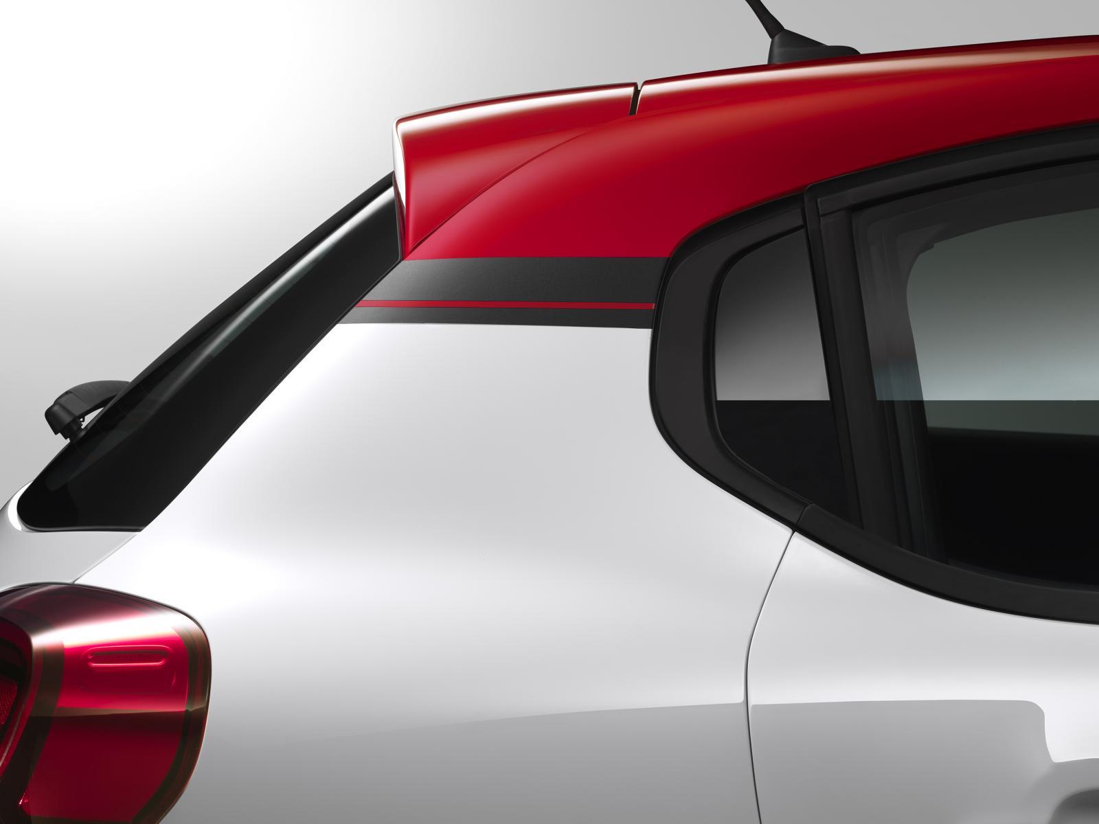 Nouvelle C3 - détail profil arrière