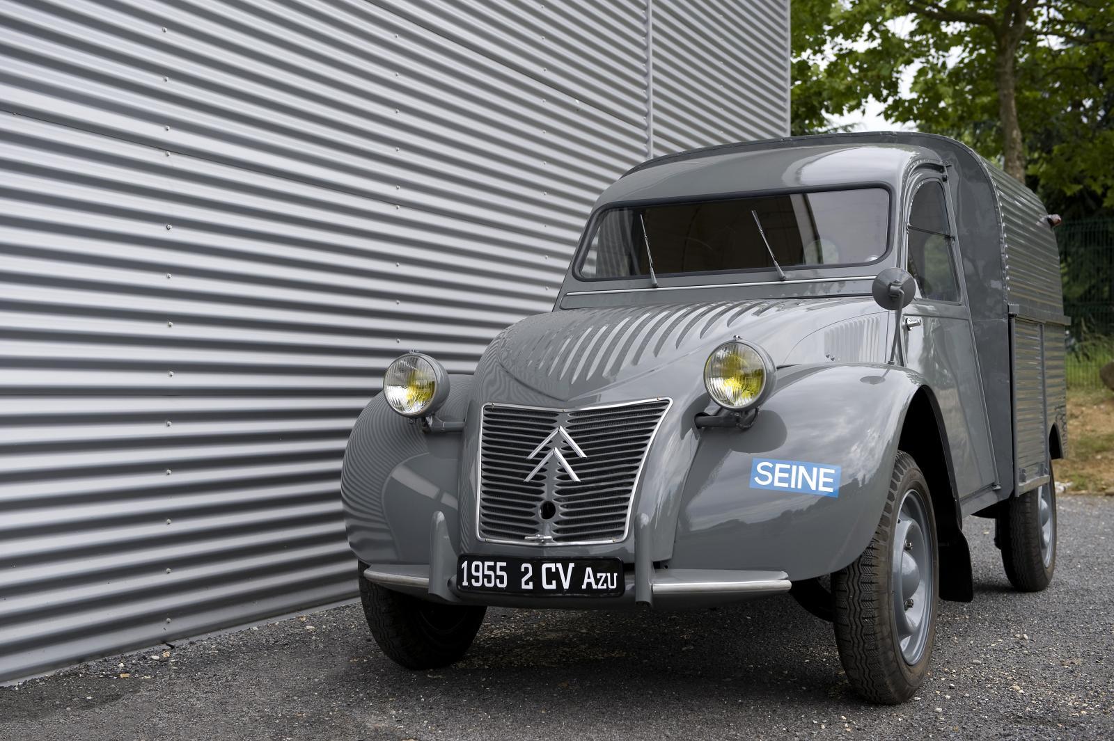 2CV AZU 1955