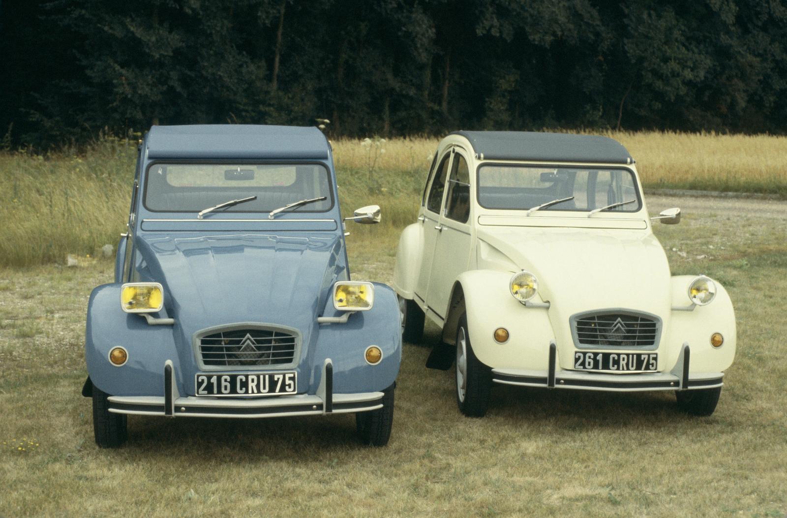 2CV 6 Special E und Club 1980