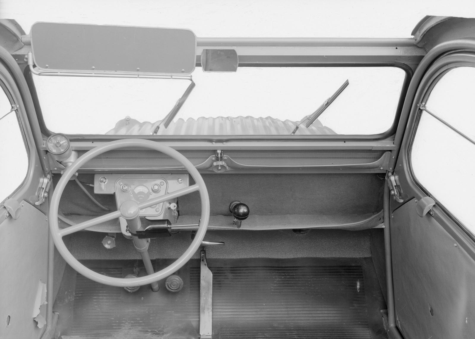 2CV 1955 Armaturenbrett