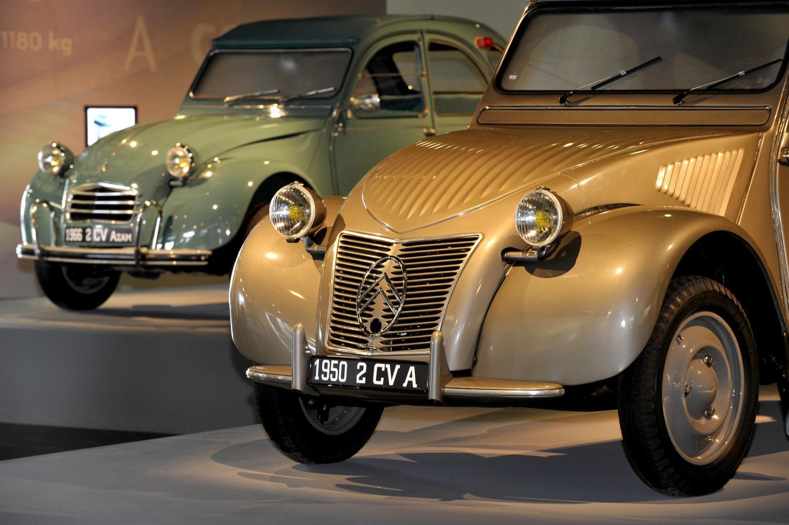 2CV A 1950 und 2CV AZAM 1966