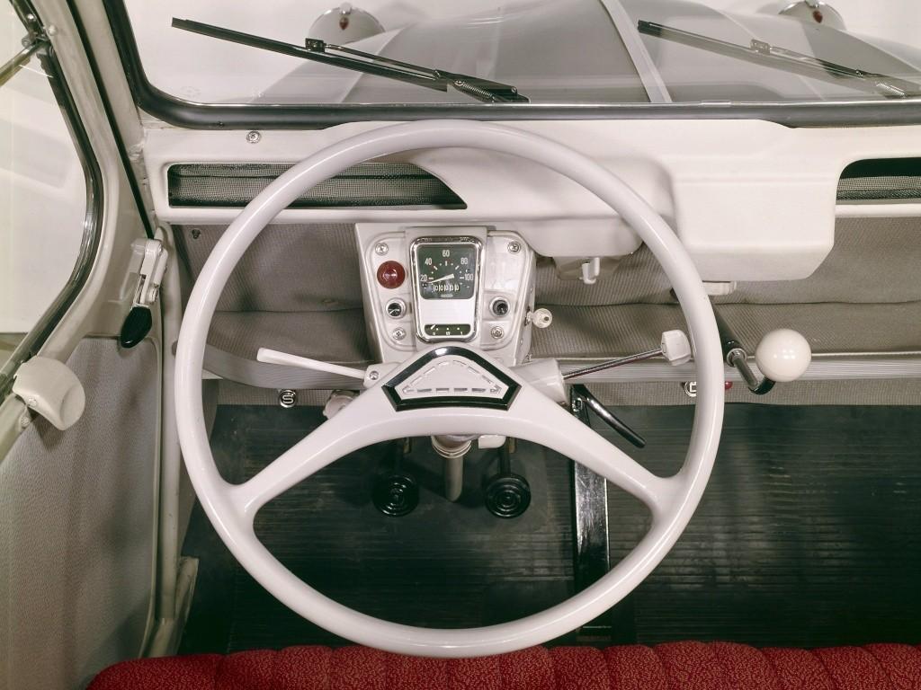2CV Azam 1963 Innenraum