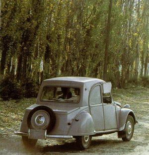 Citroneta 1960 - Modell aus Chile