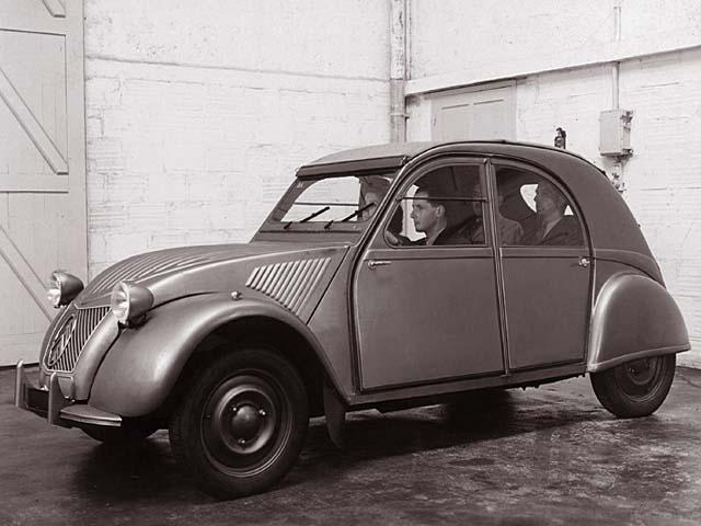 2CV Vorserienfahrzeug
