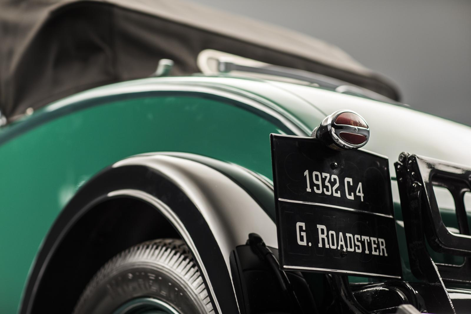 C4G Roadster - schuin van achteren