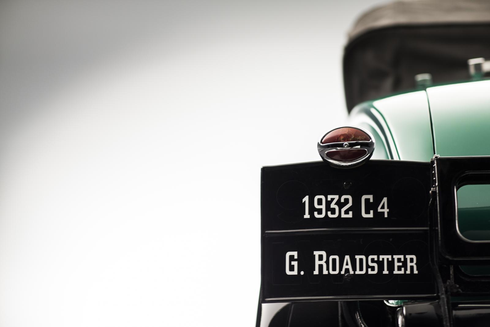 C4G Roadster - face arrière