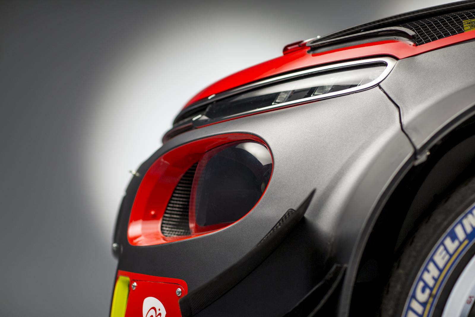 C3 WRC - profilo anteriore