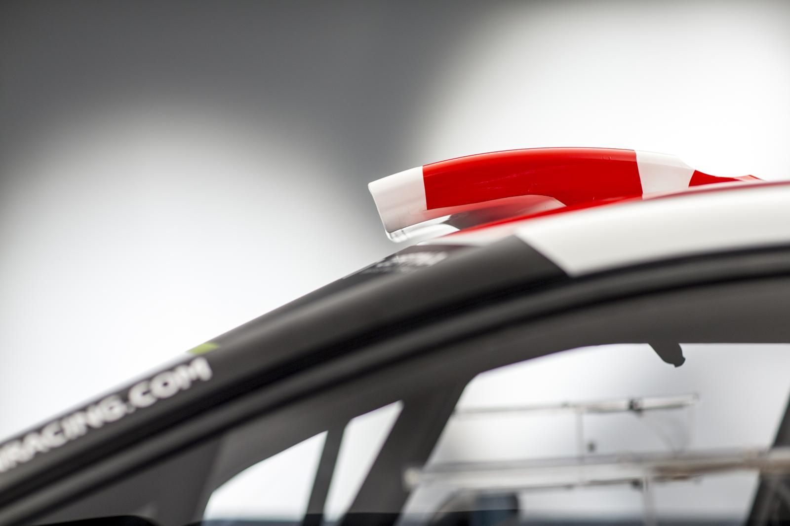 C3 WRC - cristallo frontale