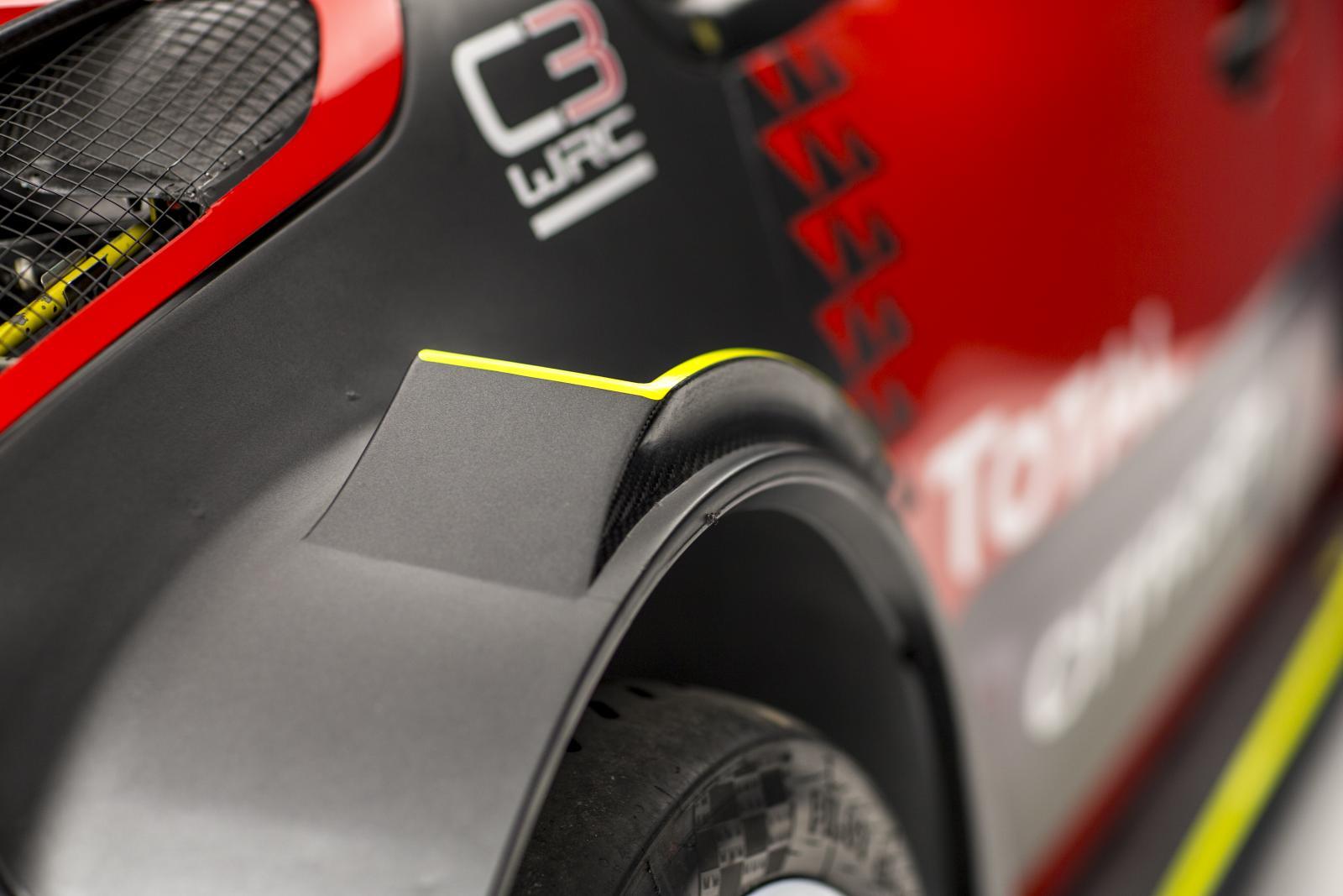C3 WRC - ruota anteriore