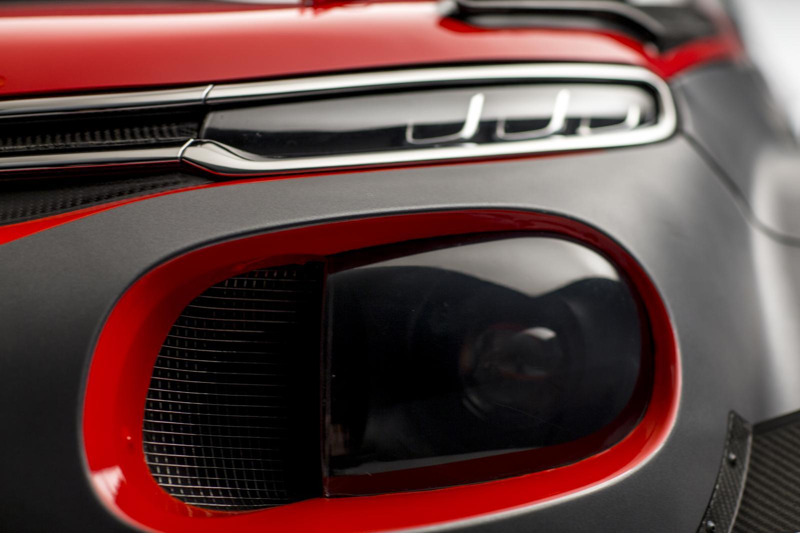 C3 WRC - faro anteriore