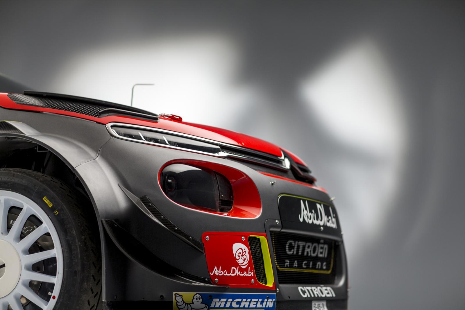 C3 WRC - profil avant