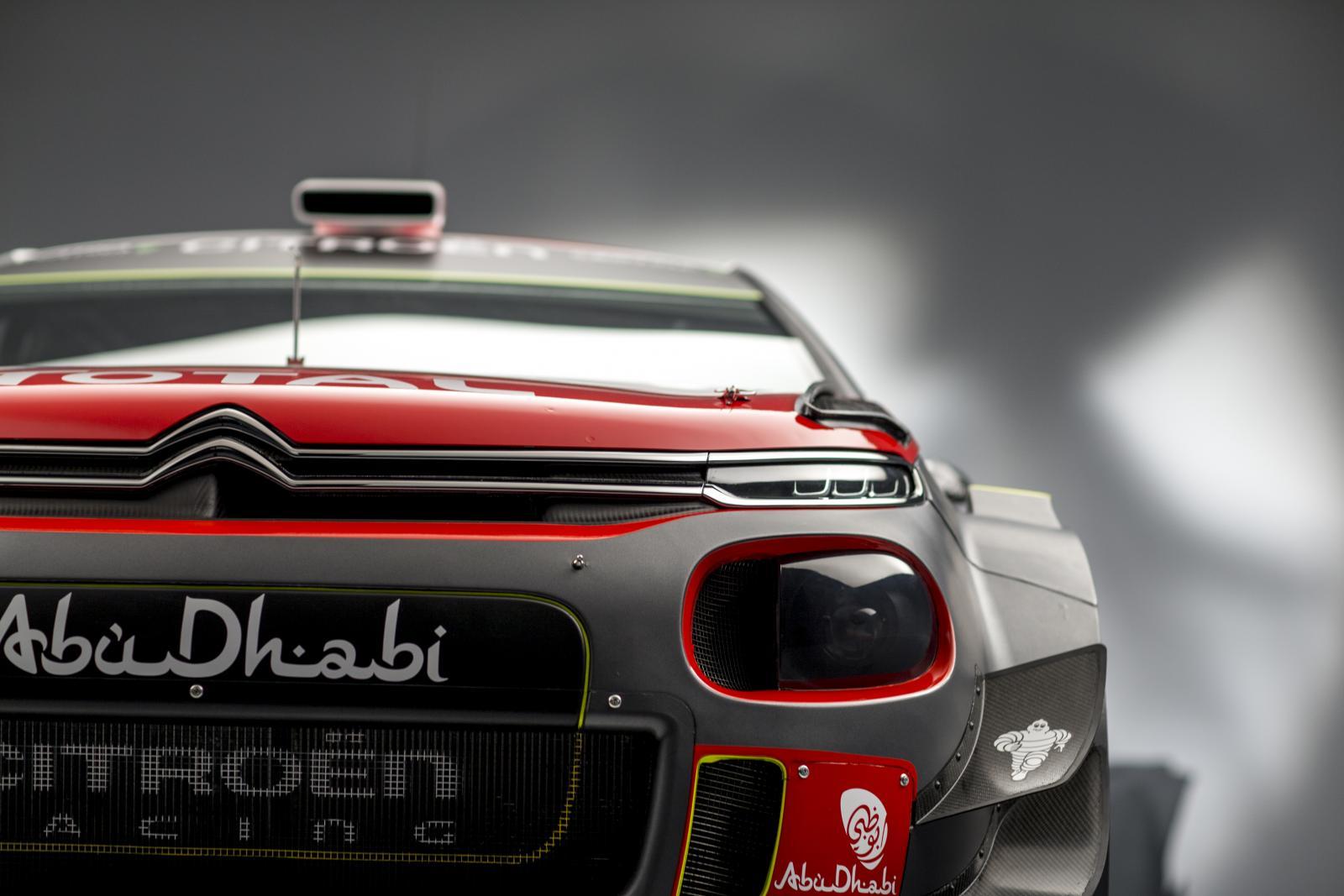 C3 WRC - vue de face