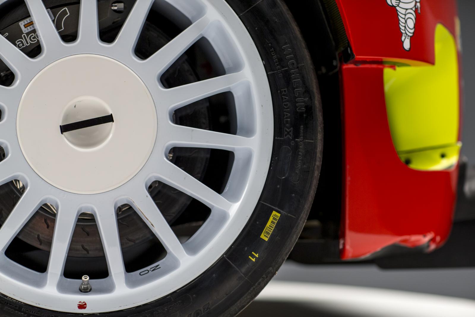 C3 WRC - roue avant