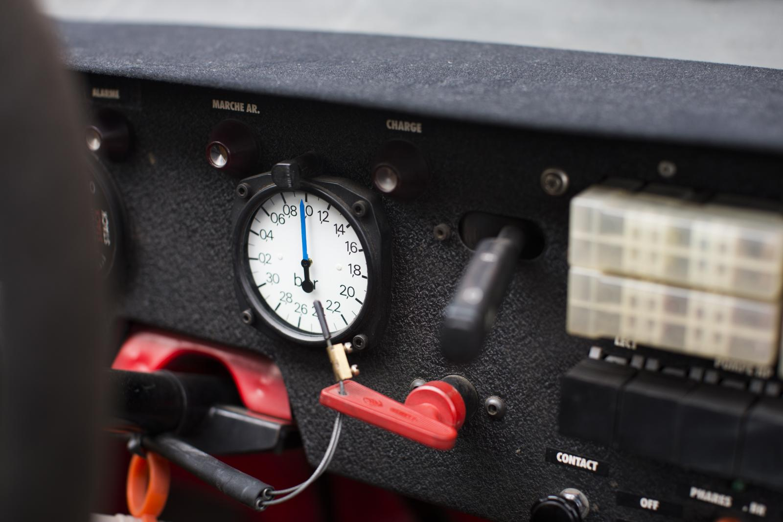 ZX Rallye Raid tableau de bord