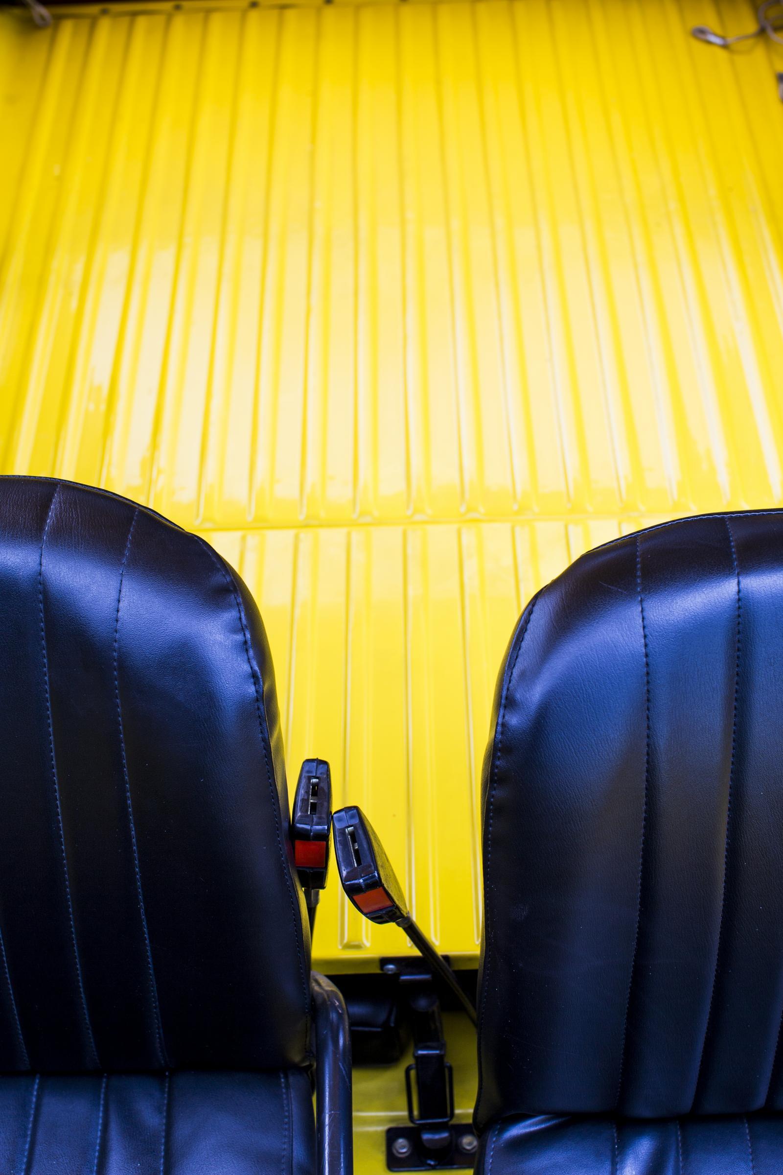 Méhari sièges avant