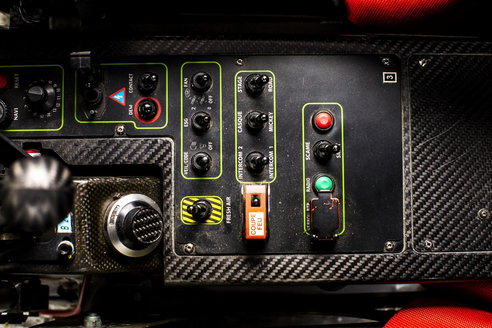 C4 WRC commandes