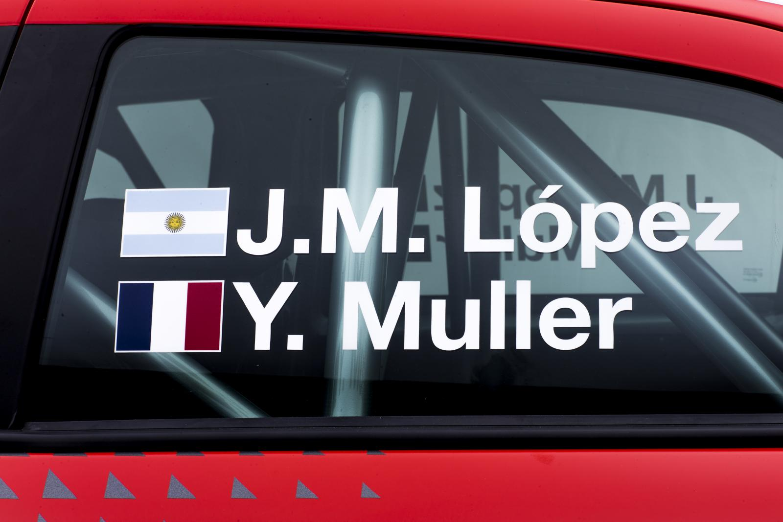 C-Elysée WTCC 2016 pilotes