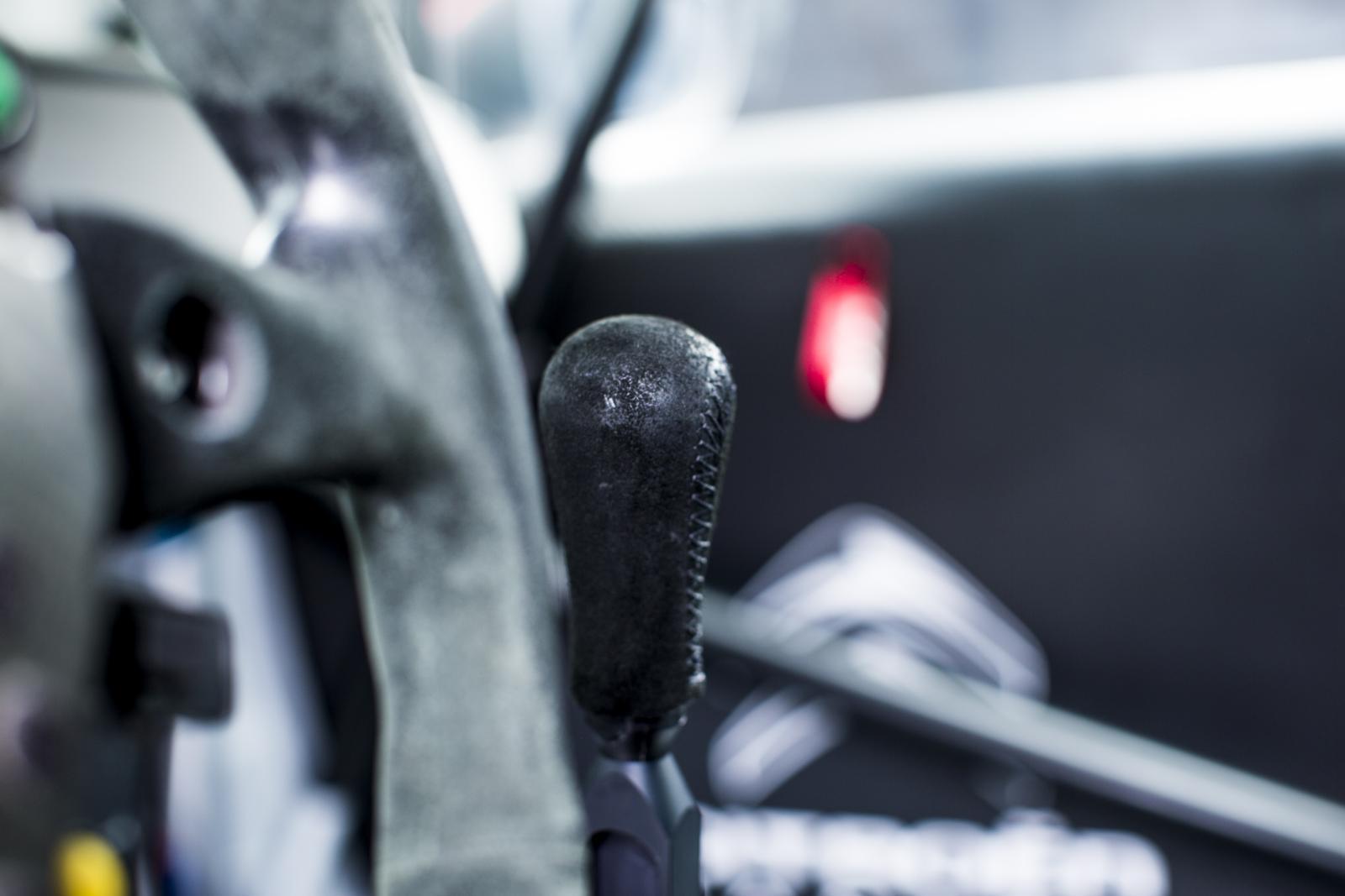 C-Elysée WTCC 2016 levier de vitesse