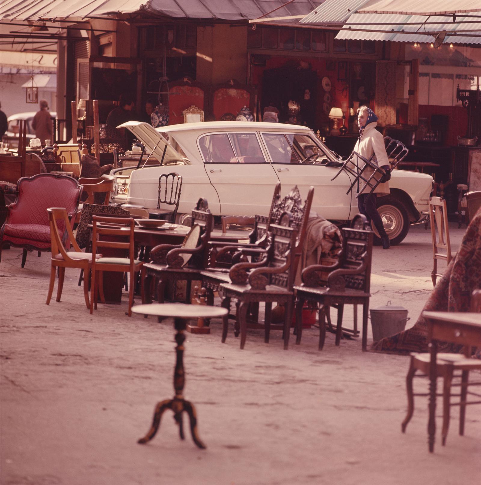 AMI 6 berline 1961 bistrot