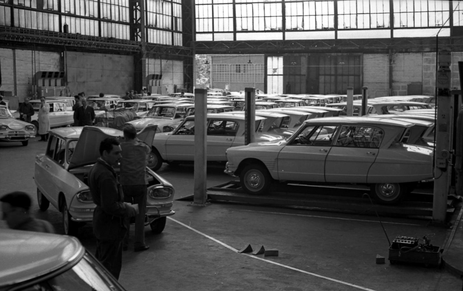 AMI 6 contrôle qualité usine de Rennes