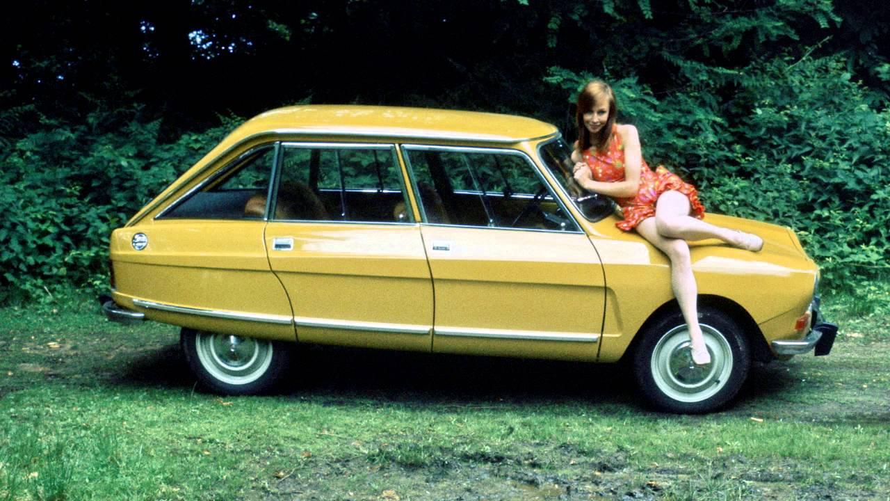 AMI 8 Berline 1969 profil remplace AMI 6