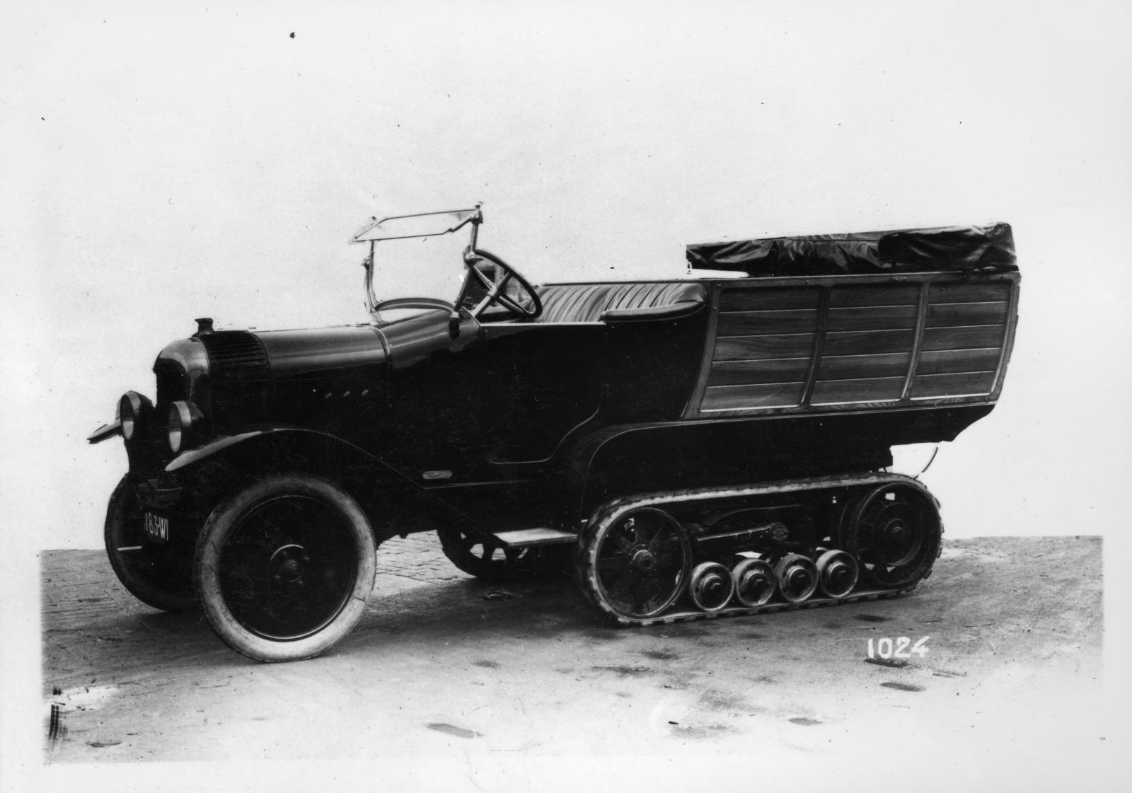 Autochenille B2 Normande 1922