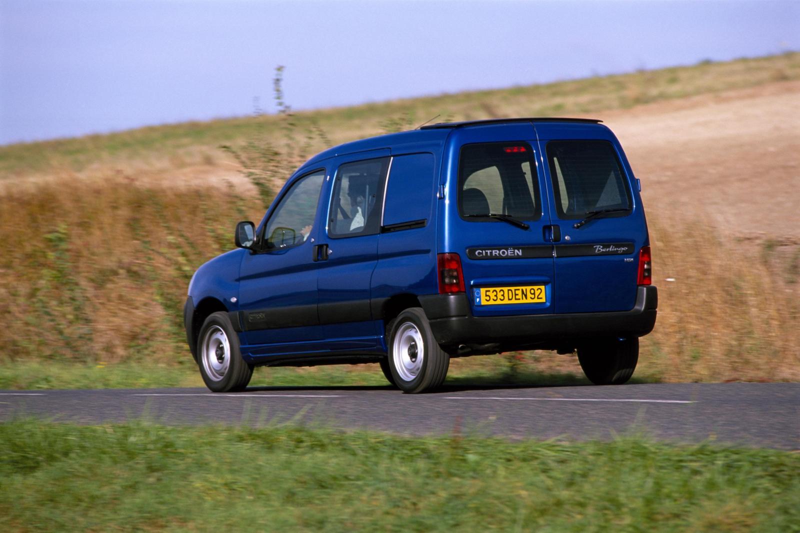 Berlingo 2002 3/4 arrière