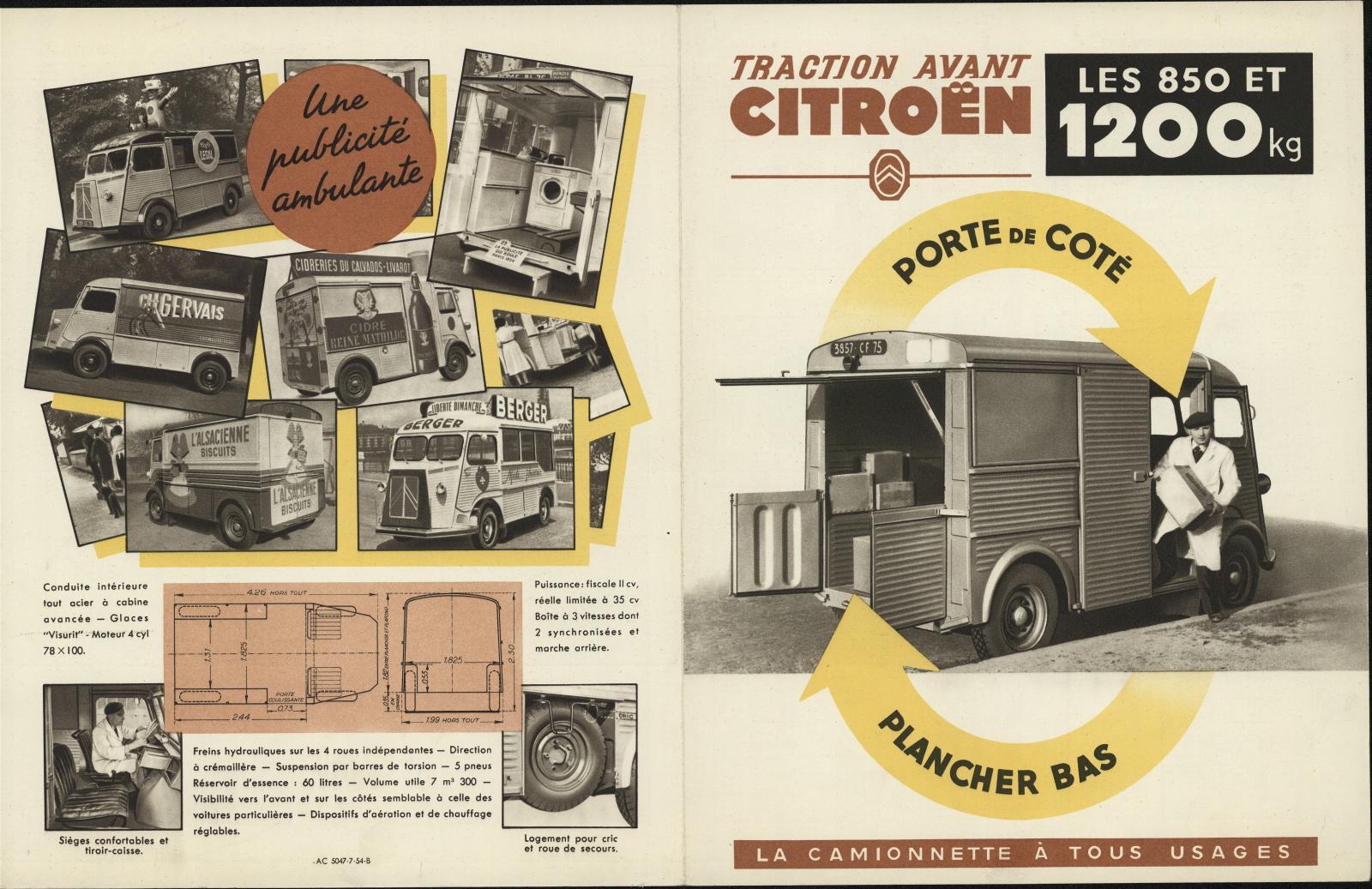 Werbeprospekt Typ H 1951