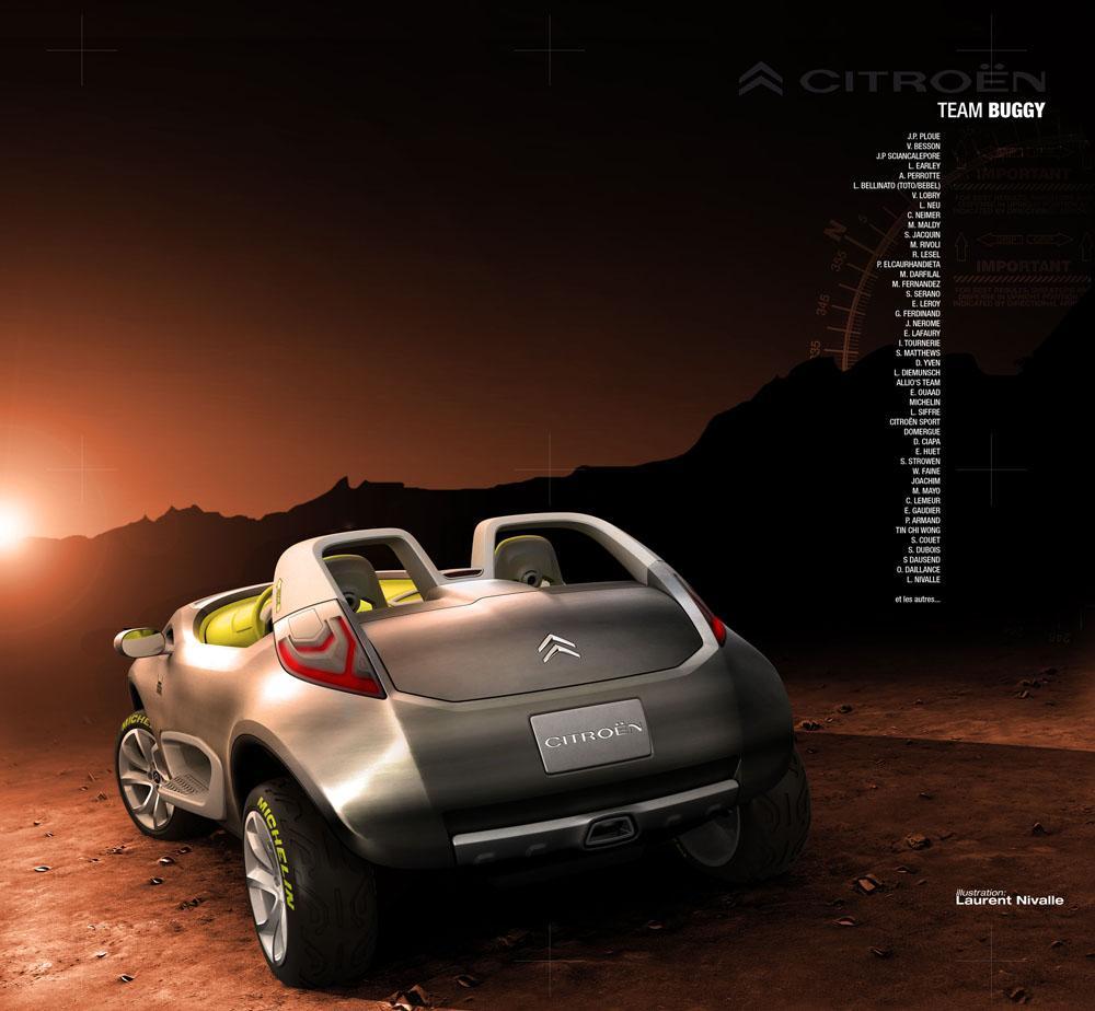 Maquette Citroën C-Buggy