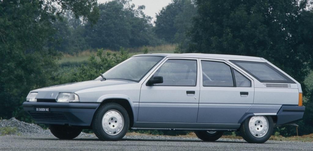 BX 14 E évasion 1987