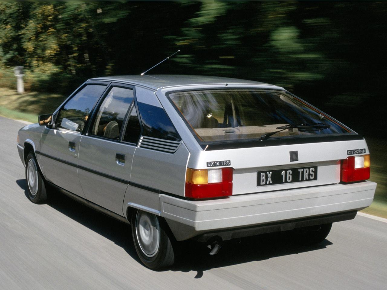 BX 16 TRS 1982 3/4 arrière