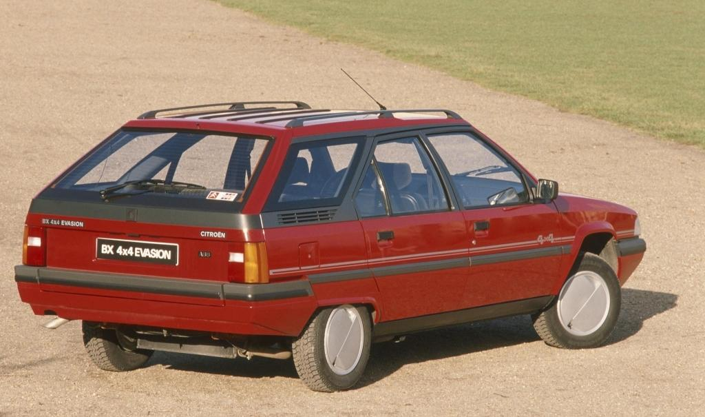 BX 4x4 évasion 1991