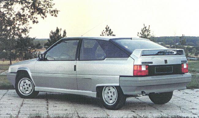 BX Coupé 1986 concept par Heuliez