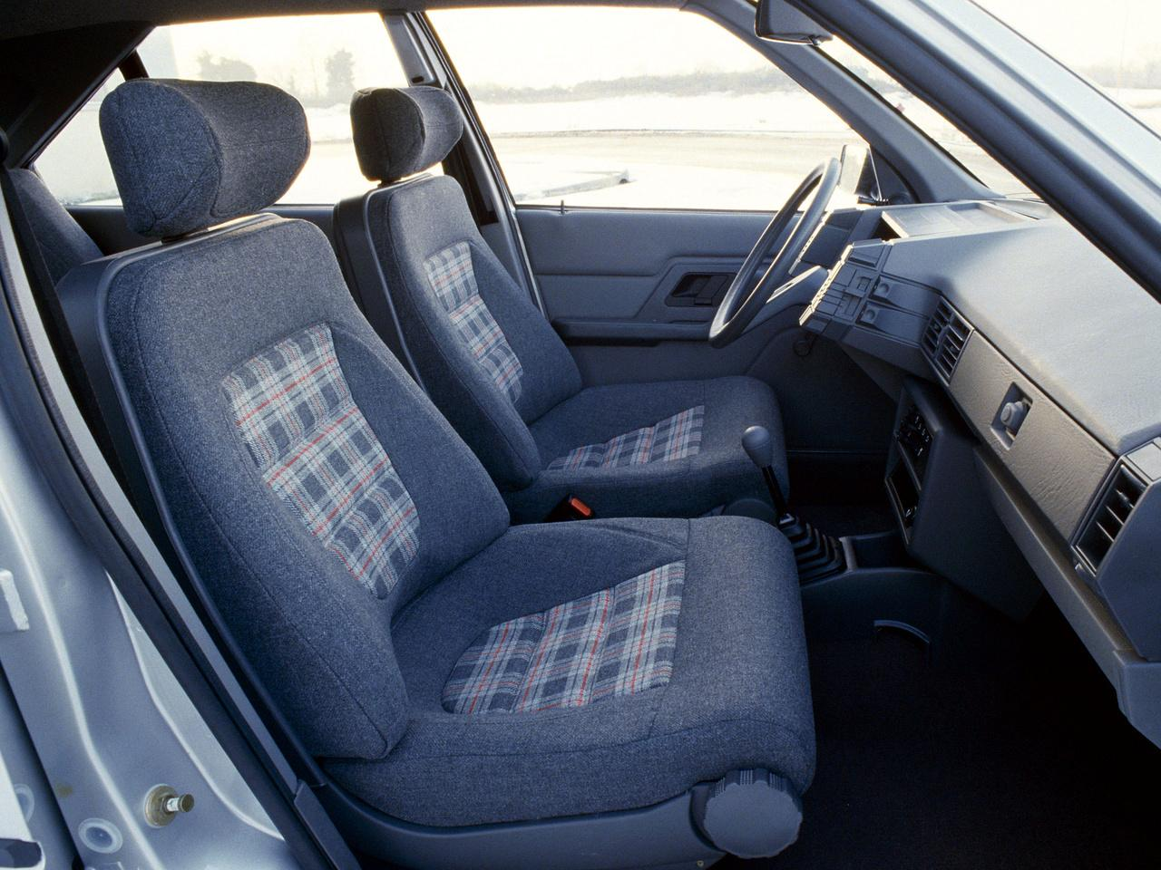 BX Leader 1985 intérieur