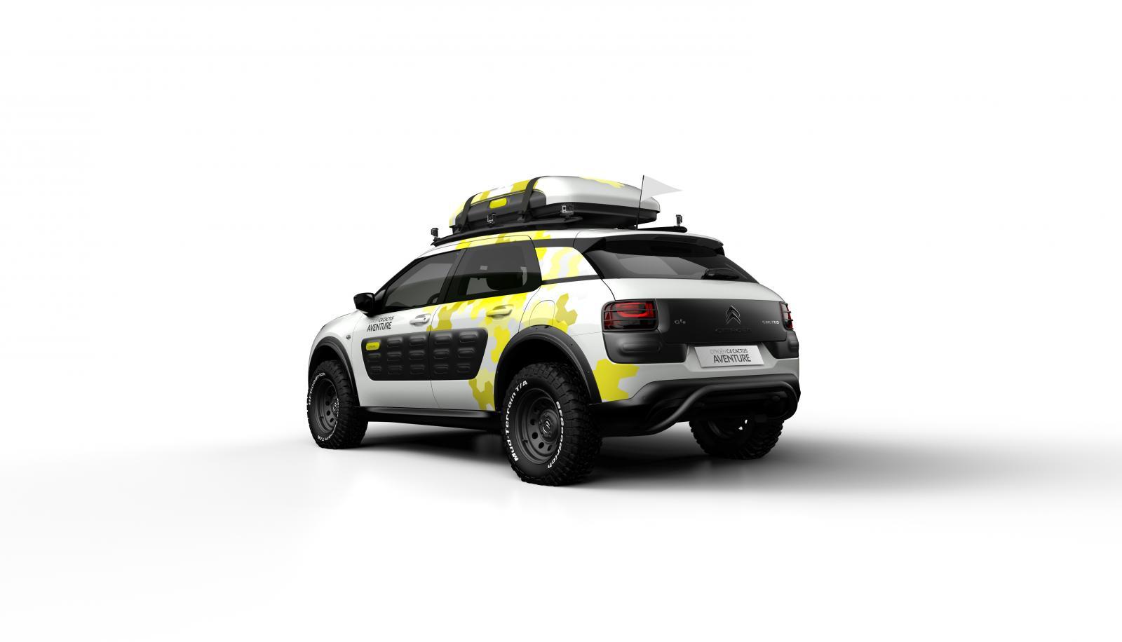 Concept-Car C4 Cactus Aventure 2014 3/4 arrière