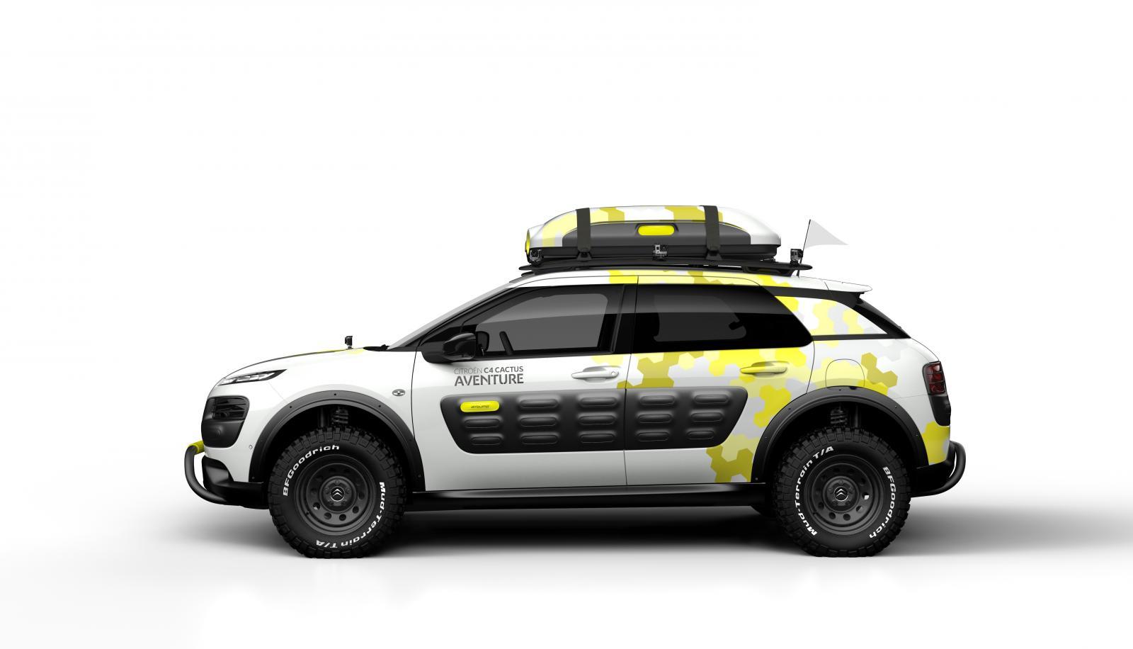 Concept-Car C4 Cactus Aventure 2014 vue latérale