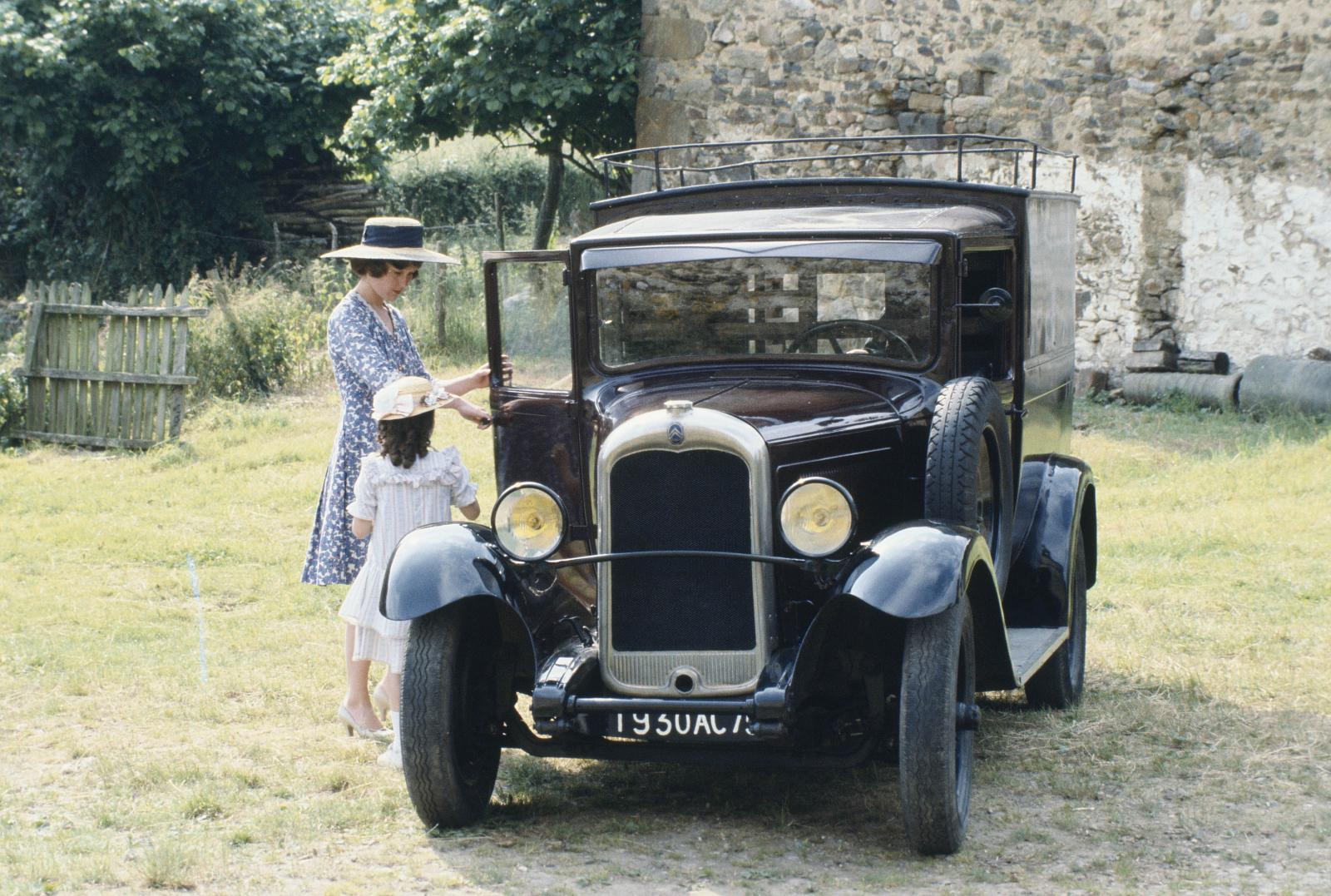 C4 Fourgon - 1930