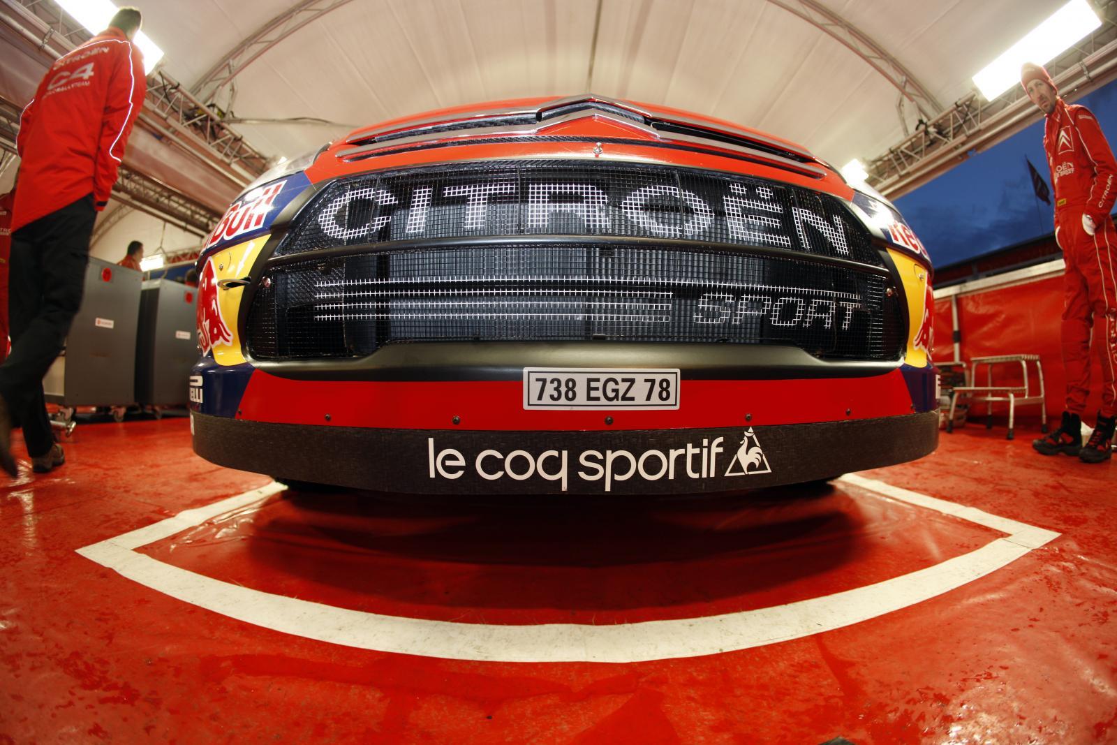 C4 WRC 2008 calandre