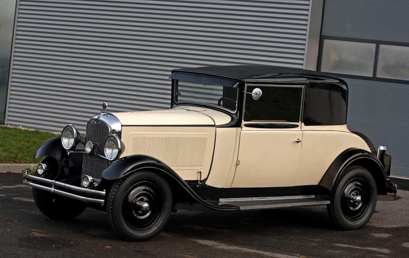 C6 του 1929, πρώτο μοντέλο με αυτό το όνομα