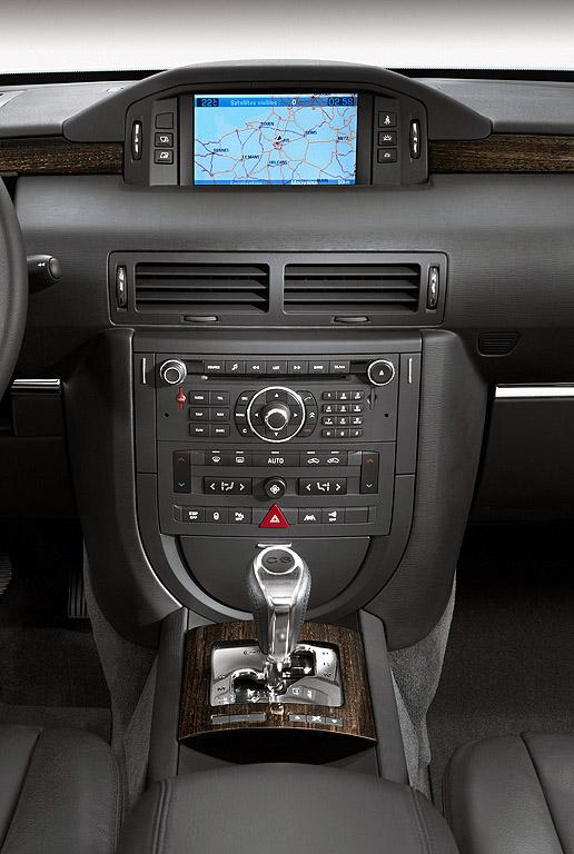 C6 V6 HDI exclusive του 2005, κεντρική κονσόλα