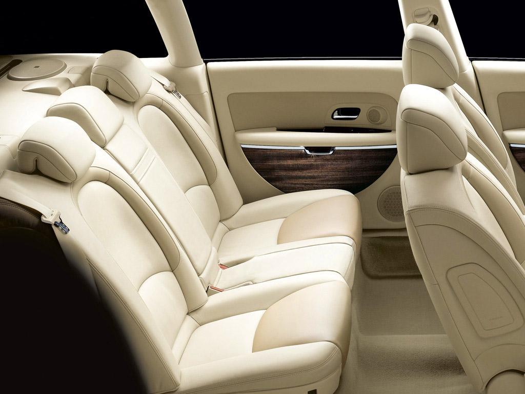 C6 V6 HDI exclusive lama του 2005, εσωτερικό, πίσω κάθισμα