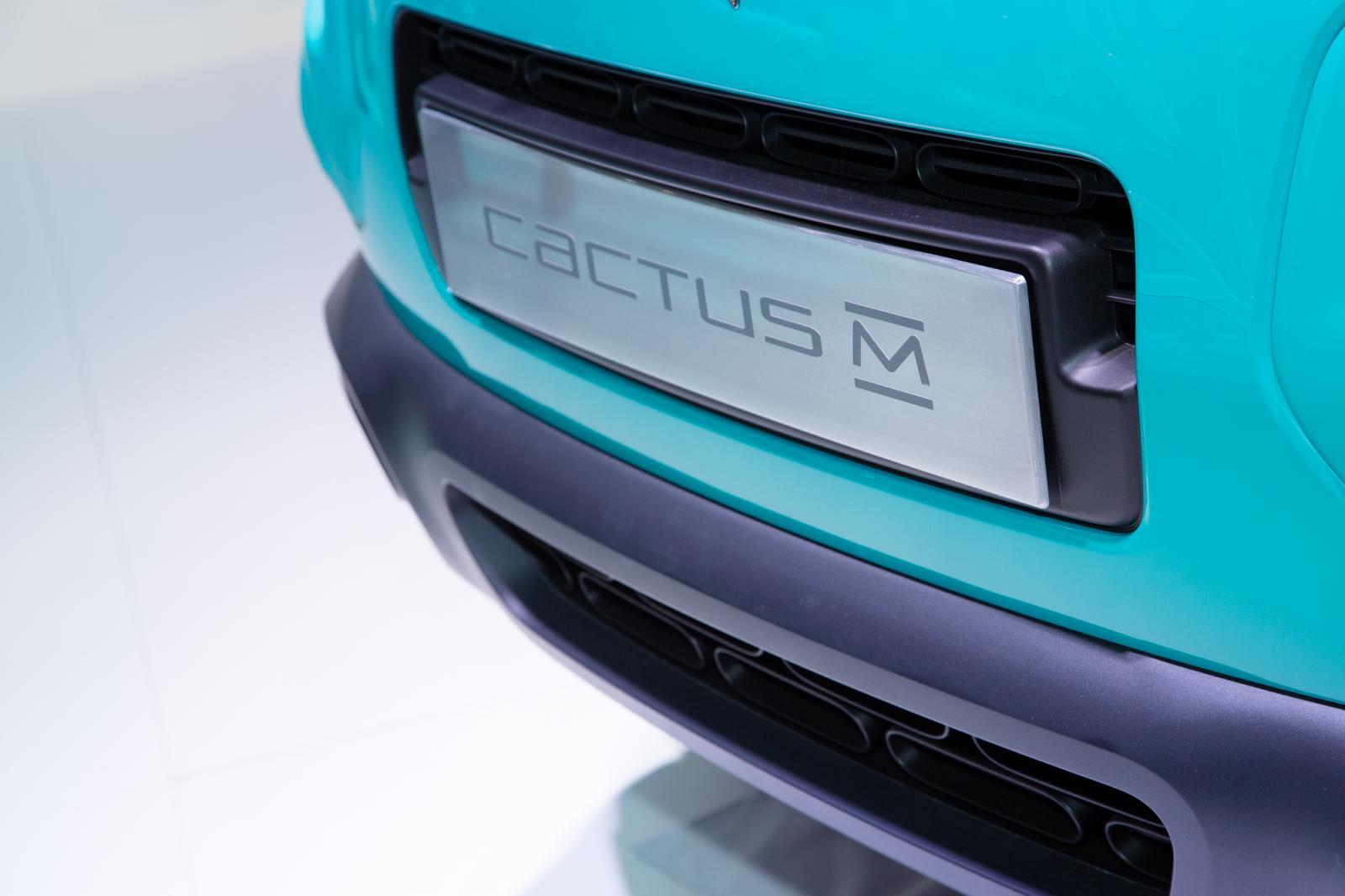 Cactus M 2015 plaque avant