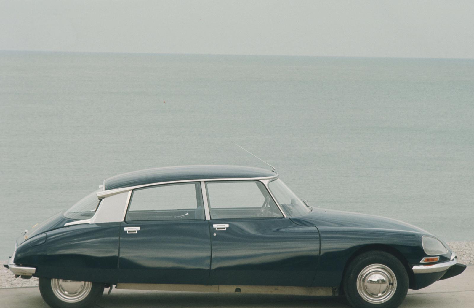 Citroën DS 21 - 1968 - Bord de mer