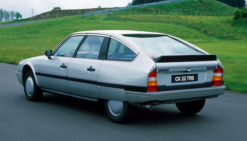 CX 22 TRS 1985 3/4 arrièe