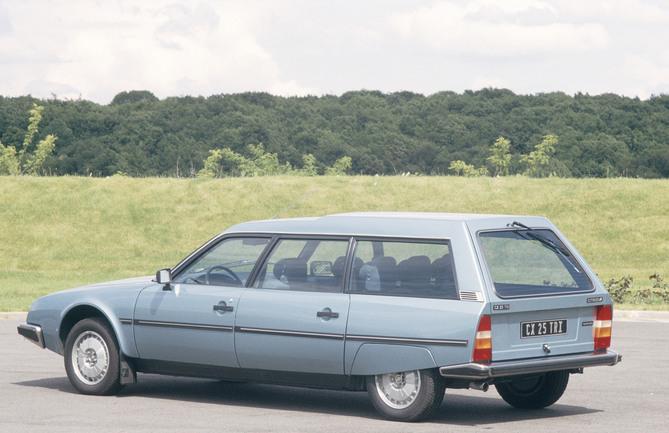 CX 25 Tri Break 1983 3/4 arrière
