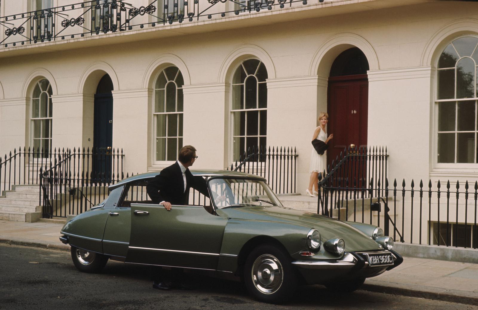 DS 21 pallas modèle anglais 1966